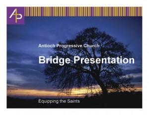 Adult Bridge Presentation