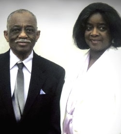 Rev. Claude Odom Jr. and Sister Lavonia Odom