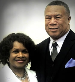 Rev. Oscar Stitt and Sister Brunette Stitt