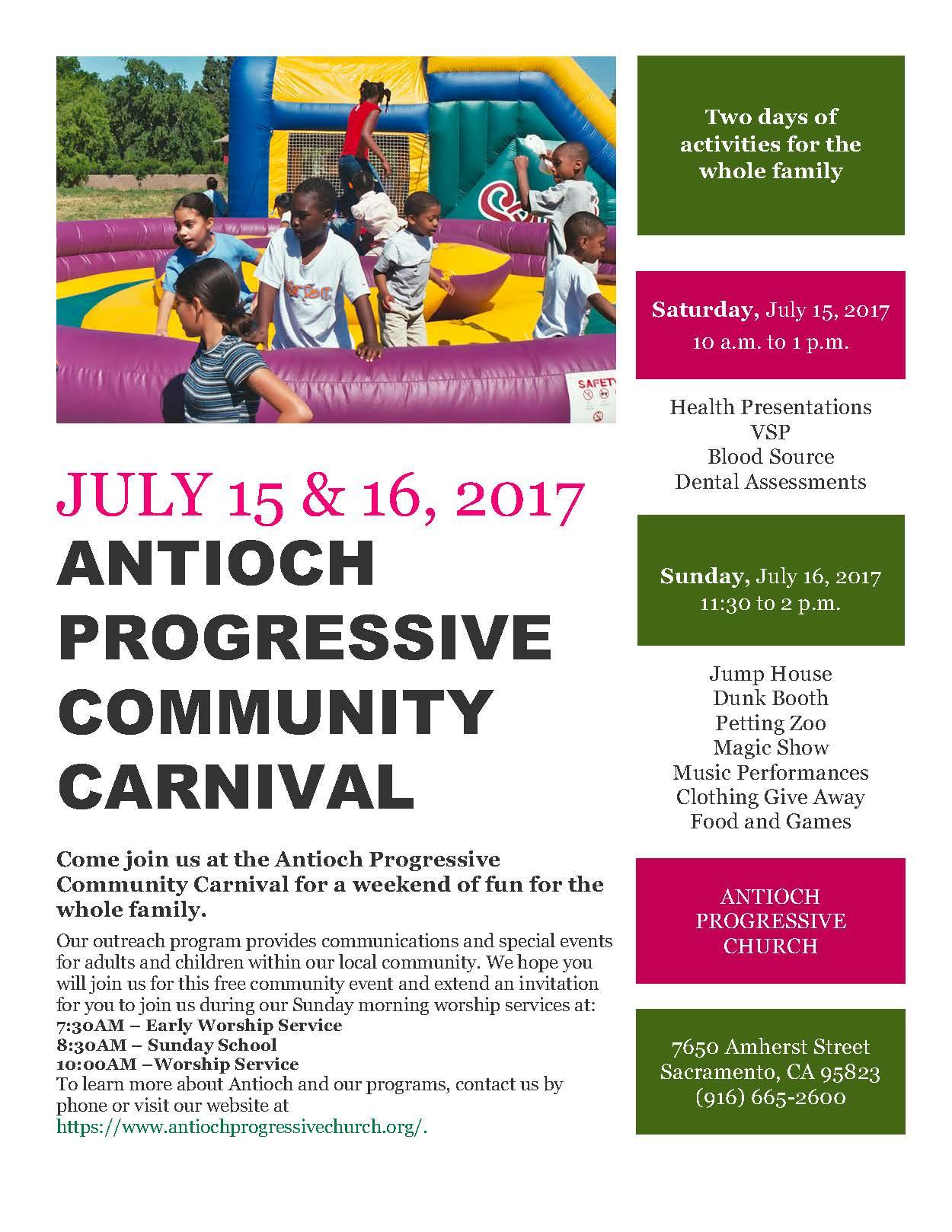 antioch community carnival